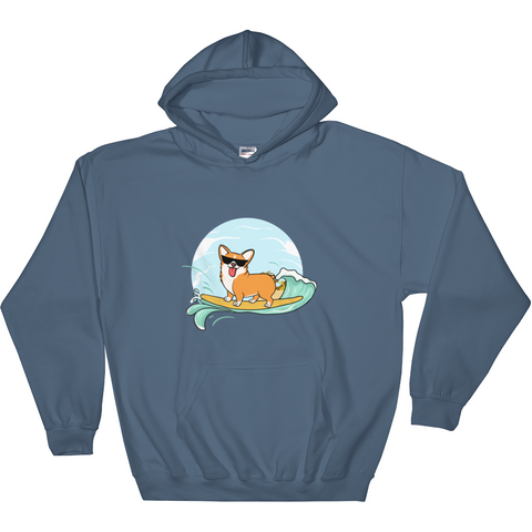 Corgi Hoodie For Women | Funny Pembroke Welsh Dog Sweatshirt | The Jazzy Panda