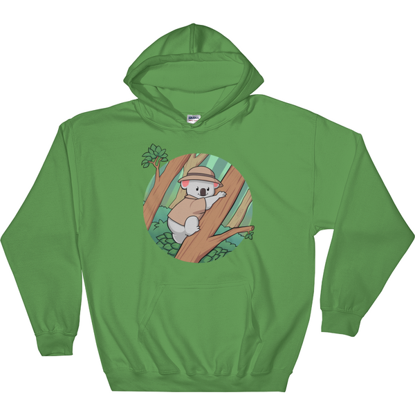 Koala Bear Hoodie For Women | Funny Animal Sweatshirt | The Jazzy Panda