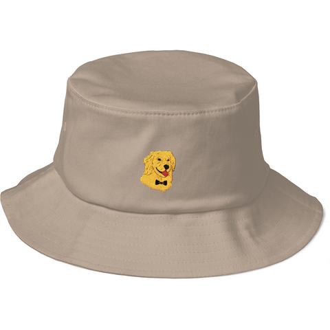 Golden Retriever Bucket Hat For Women | Funny Dog Cap | The Jazzy Panda