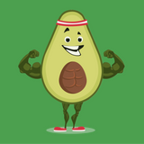 Avocado T Shirt For Women | Funny Vegan Gym Gift Tee | The Jazzy Panda
