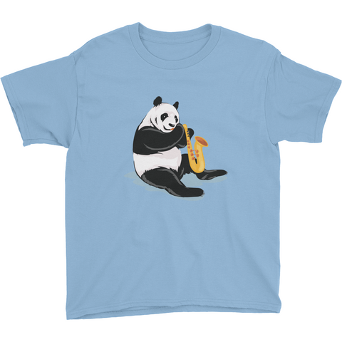 Panda T Shirt For Boys | Funny Bear Lover Gift Tee | The Jazzy Panda