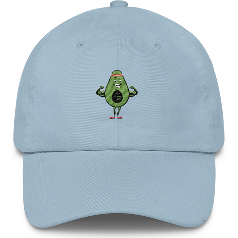 Avocado Baseball Cap For Women | Funny Vegan Gym Gift Dad Hat | The Jazzy Panda