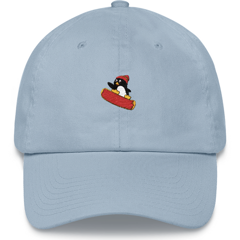 Penguin Baseball Cap For Men | Funny Zoo Animal Dad Hat | The Jazzy Panda