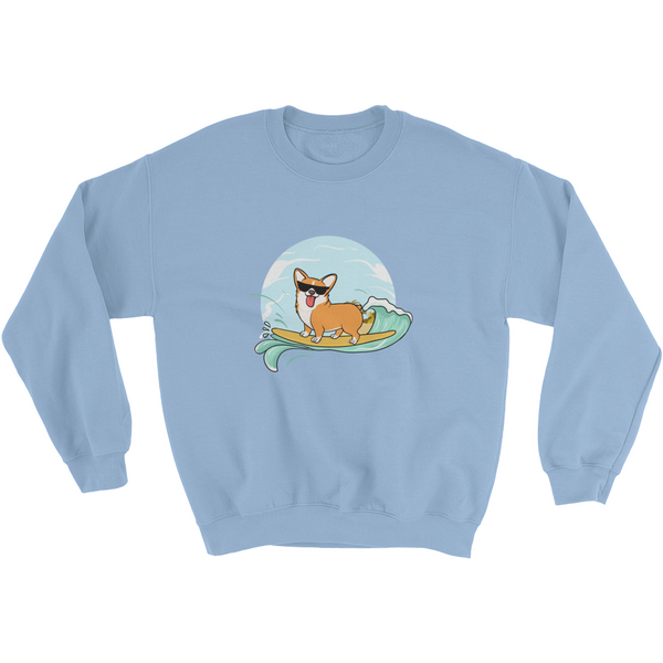 Corgi Crewneck For Women | Funny Pembroke Welsh Dog Sweatshirt | The Jazzy Panda