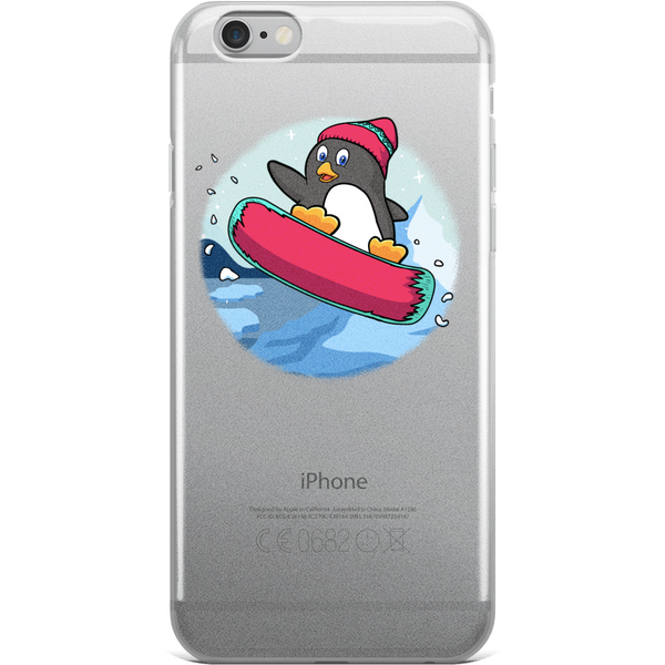 Penguin iPhone 6 6s Plus Case | Funny Zoo Animal Cover | The Jazzy Panda