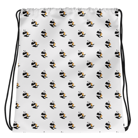 Panda Drawstring | Funny Bear Lover Gift Bag | The Jazzy Panda