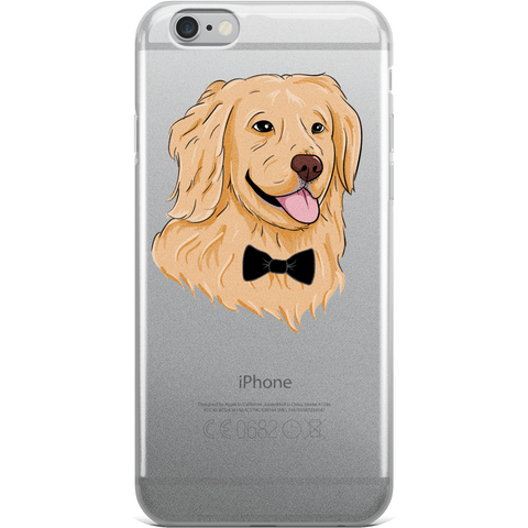 Golden Retriever iPhone 6 6s Plus Case | Funny Dog Cover | The Jazzy Panda