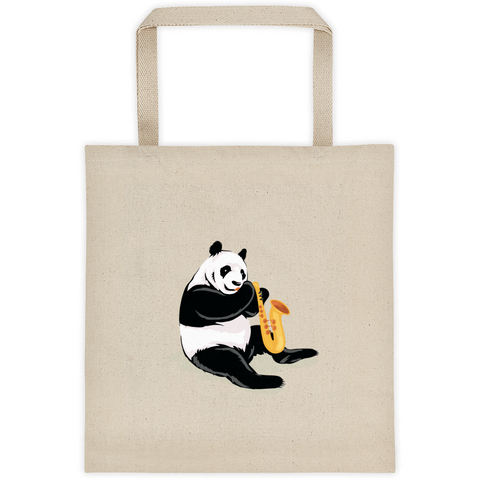 Panda Tote | Funny Bear Lover Gift Bag | The Jazzy Panda