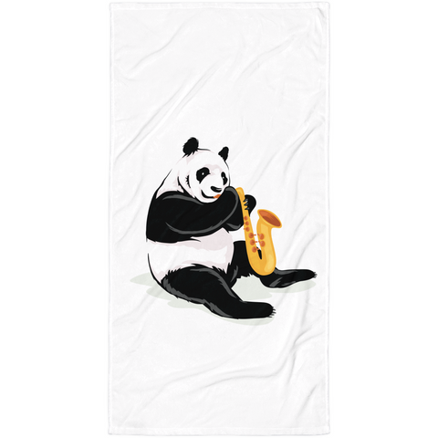 Panda Towel | Funny Bear Lover Gift Blanket | The Jazzy Panda