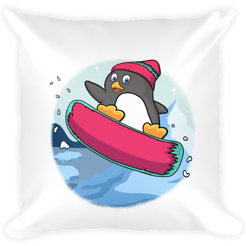 Penguin Pillow | Funny Zoo Animal Cushion | The Jazzy Panda
