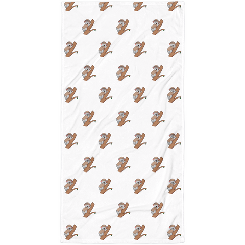 Koala Bear All-Over Towel | Funny Animal Blanket | The Jazzy Panda