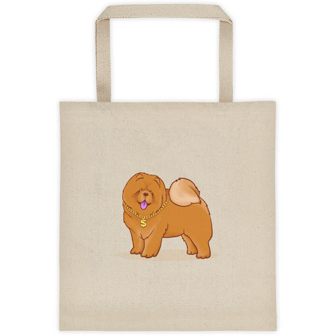 Chow Chow Tote | Funny Dog Lover Bag | The Jazzy Panda