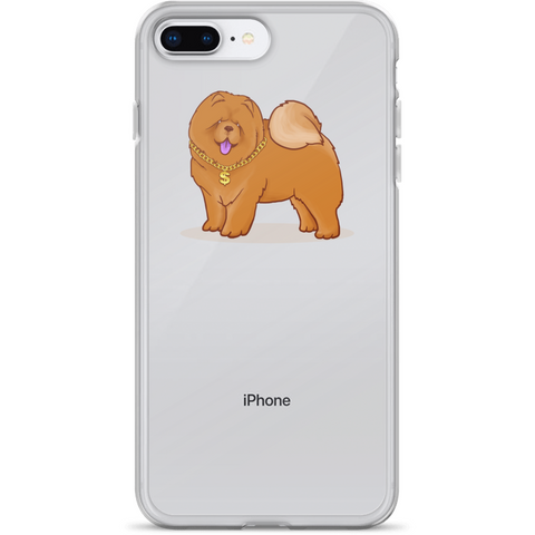 Chow Chow iPhone 7 8 Plus Case | Funny Dog Lover Cover | The Jazzy Panda