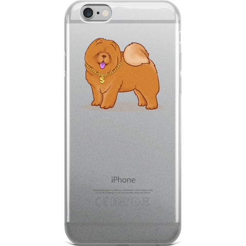 Chow Chow iPhone 6 6s Case | Funny Dog Lover Cover | The Jazzy Panda