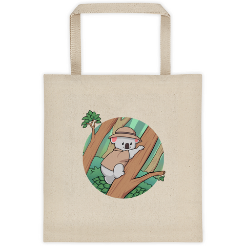 Koala Bear Tote | Funny Animal Bag | The Jazzy Panda