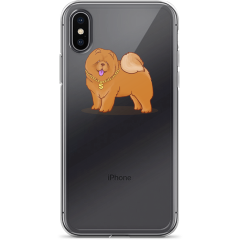 Chow Chow iPhone X Case | Funny Dog Lover Cover | The Jazzy Panda
