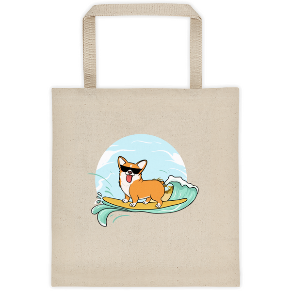 Corgi Tote | Funny Pembroke Welsh Dog Bag | The Jazzy Panda