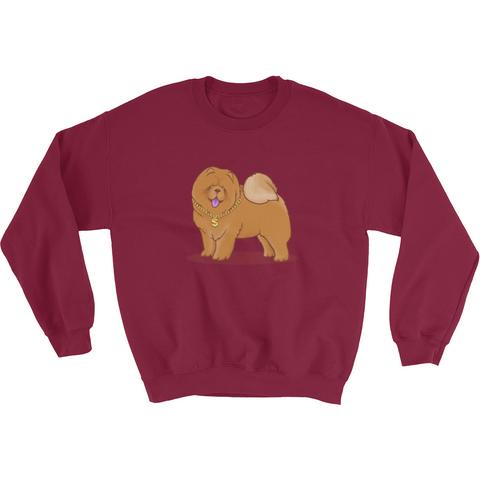 Chow Chow Crewneck For Women | Funny Dog Lover Sweatshirt | The Jazzy Panda