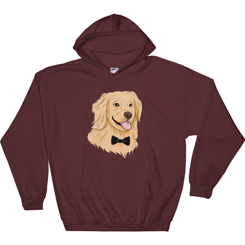 Golden Retriever Hoodie For Women | Funny Dog Sweatshirt | The Jazzy Panda