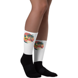 Pineapple Socks For Women | Tropical Hawaiian Sock | The Jazzy Panda
