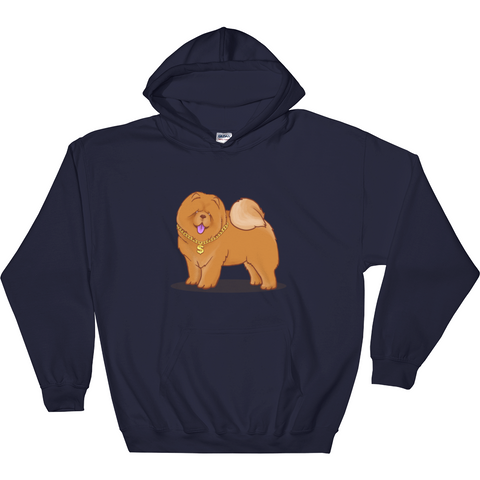 Chow Chow Hoodie For Women | Funny Dog Lover Sweatshirt | The Jazzy Panda