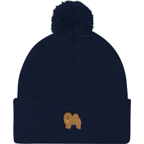 Chow Chow Beanie Hat For Women | Funny Dog Lover Cap | The Jazzy Panda