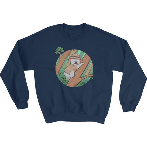 Koala Bear Crewneck For Men | Funny Animal Sweatshirt | The Jazzy Panda
