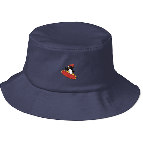 Penguin Bucket Hat For Women | Funny Zoo Animal Cap | The Jazzy Panda
