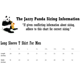 Penguin Long Sleeve T Shirt For Men | Funny Zoo Animal Tee | The Jazzy Panda