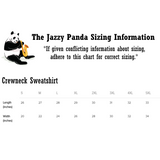 Panda Crewneck For Women | Funny Bear Lover Gift Sweatshirt | The Jazzy Panda