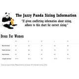 Panda Dress For Women | Funny Bear Lover Gift Outfit | The Jazzy Panda