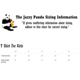 Sizing Chart | Avocado T Shirt For Youth Girls | Funny Vegan Gym Gift Tee | The Jazzy Panda