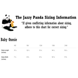 Sizing Chart | Corgi Baby Girl Onesie Bodysuit | Funny Cute Dog Lover Gift Tee | The Jazzy Panda