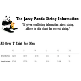 Penguin All-Over T Shirt For Men | Funny Zoo Animal Tee | The Jazzy Panda