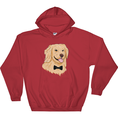 Golden Retriever Hoodie For Men | Funny Dog Sweatshirt | The Jazzy Panda