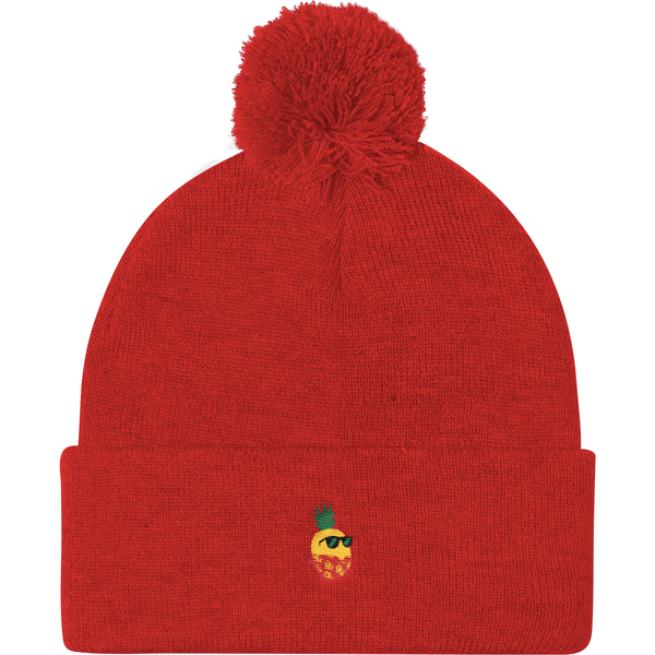 Pineapple Beanie Hat For Women | Tropical Hawaiian Cap | The Jazzy Panda