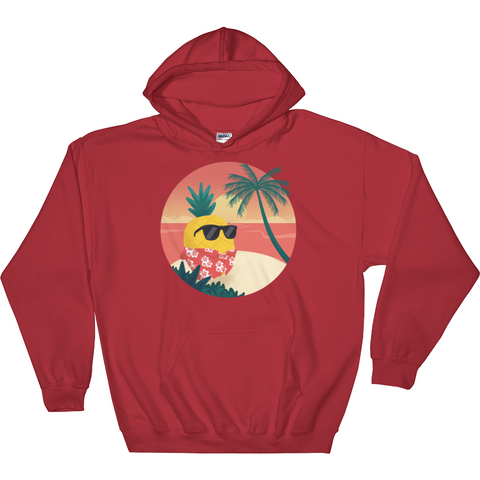 Pineapple Hoodie For Women | Tropical Hawaiian Sweatshirt | The Jazzy Panda