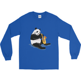 Panda Long Sleeve T Shirt For Men | Funny Bear Lover Gift Tee | The Jazzy Panda