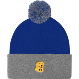 Golden Retriever Beanie Hat For Men | Funny Dog Cap | The Jazzy Panda