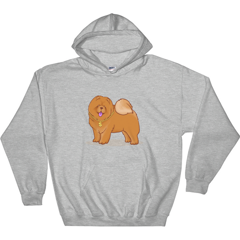 Chow Chow Hoodie For Men | Funny Dog Lover Sweatshirt | The Jazzy Panda