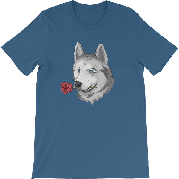 Husky T Shirt For Men | Funny Siberian Dog Tee | The Jazzy Panda