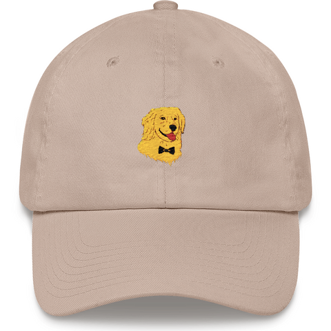 Golden Retriever Baseball Cap For Women | Funny Dog Dad Hat | The Jazzy Panda