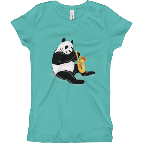 Panda T Shirt For Girls | Funny Bear Lover Gift Tee | The Jazzy Panda