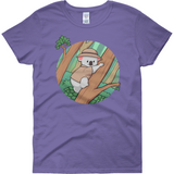 Koala Bear T Shirt For Women | Funny Animal Tee | The Jazzy Panda