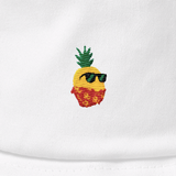 Pineapple Bucket Hat For Women | Tropical Hawaiian Cap | The Jazzy Panda