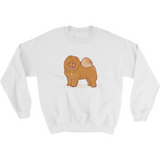 Chow Chow Crewneck For Men | Funny Dog Lover Sweatshirt | The Jazzy Panda