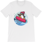 Penguin T Shirt For Men | Funny Zoo Animal Tee | The Jazzy Panda