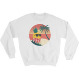 Pineapple Crewneck For Women | Tropical Hawaiian Sweatshirt | The Jazzy Panda