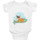 Corgi Baby Girl Onesie | Funny Pembroke Welsh Dog Romper | The Jazzy Panda