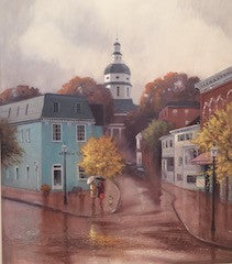Passing Shower in Annapolis - Francis Street